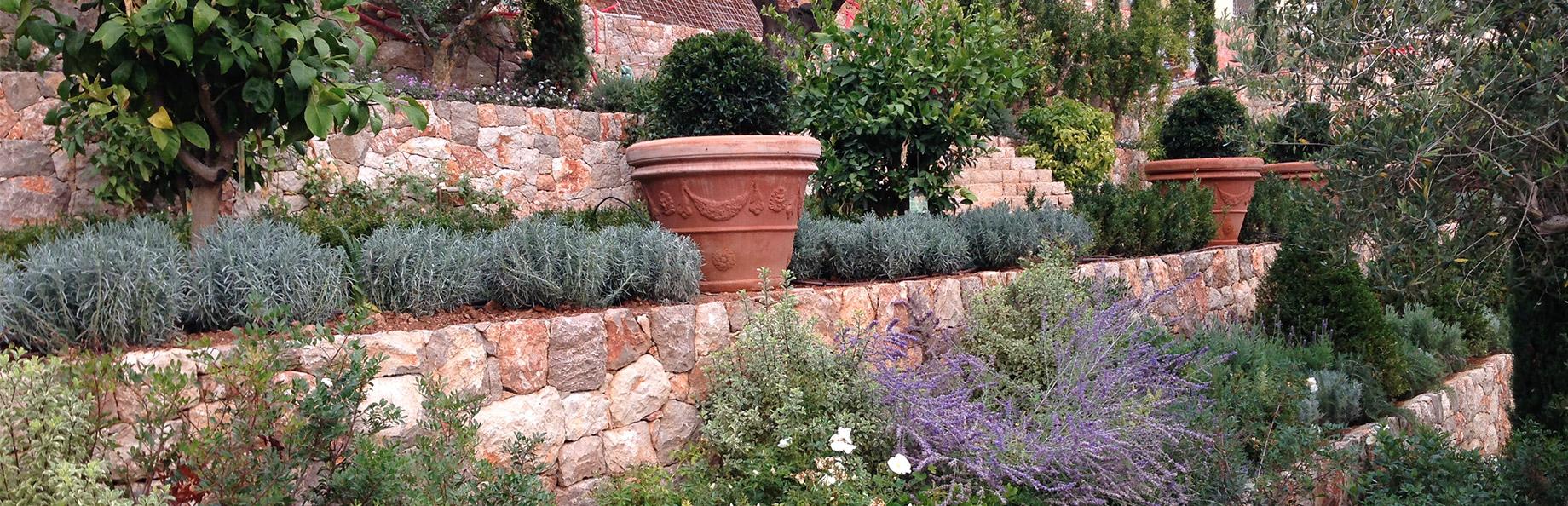 Jardins classiques et provençaux